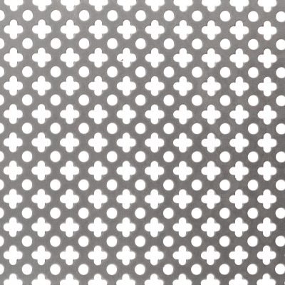 F10236 Pattern Perforated Metal Sheet: 36% Open Area