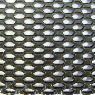 JE1112 Expanded Metal Security Fencing