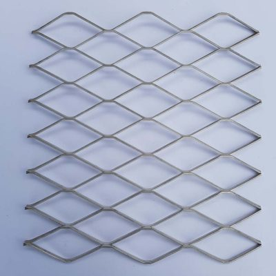 3820 Expanded Metal Sheet: 62 x 28mm Openings