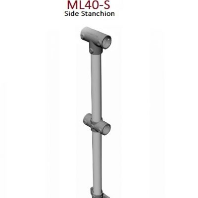 Side Stanchion 40NB Monowills Link Modular Railing